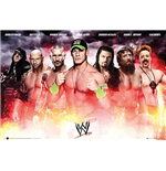 Wwe - Collage 2014 (Poster Maxi 61x91,5 Cm)