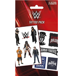 Wwe - Logo'S And Superstars (Temporary Tattoo)