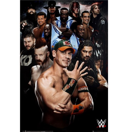 Wwe - Superstars 2016 (Poster Maxi 61x91,5 Cm)