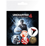 Uncharted 4 - Mix (Badge Pack)