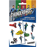 Thunderbirds Are Go - Mix (Temporary Tattoo)