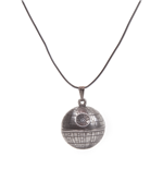 Star Wars - Death Star Necklace Pendant Necklaces U Silver