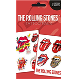 Rolling Stones (The) - Lips (Temporary Tattoo)