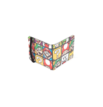 Nintendo - Super Mario Characters Bifold Wallet With Elastic Band Wallets Bifold U Multicolor (Portafoglio)