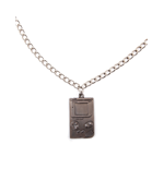 Nintendo - Gameboy Metal Necklace Pendant Necklaces U Gold