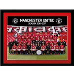 Manchester United - Team Photo 16/17 (Stampa In Cornice 15x20 Cm)