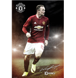 Manchester United - Rooney 16/17 (Poster Maxi 61x91,5 Cm)
