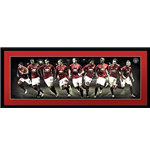 Manchester United - Players 16/17 (Stampa In Cornice 75x30 Cm)