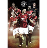 Manchester United - Players 16/17 (Poster Maxi 61x91,5 Cm)