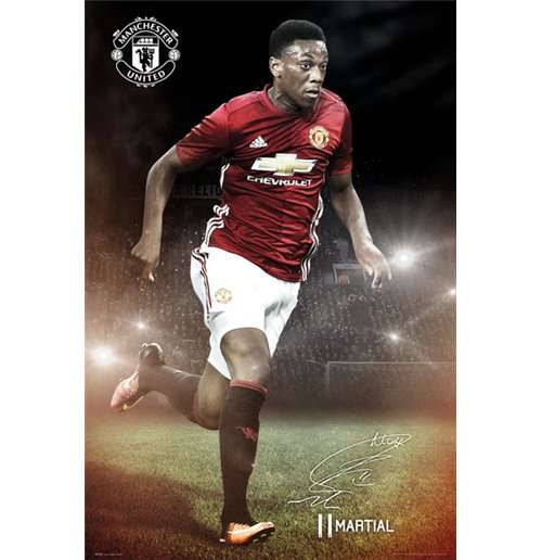 Manchester United - Martial 16/17 (Poster Maxi 61x91,5 Cm)
