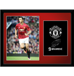 Manchester United - Ibrahimovic 16/17 (Stampa In Cornice 30x40 Cm)