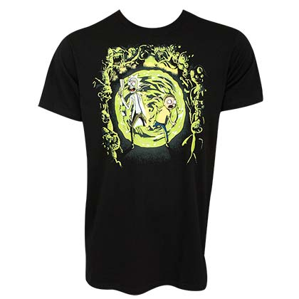 T-shirt Rick and Morty Portal