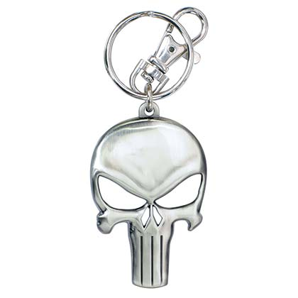 Portachiavi The punisher Skull