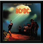 Ac/Dc - Let There Be Rock (Stampa In Cornice 30x30 Cm)