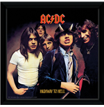 Ac/Dc - Highway To Hell (Stampa In Cornice 30x30 Cm)