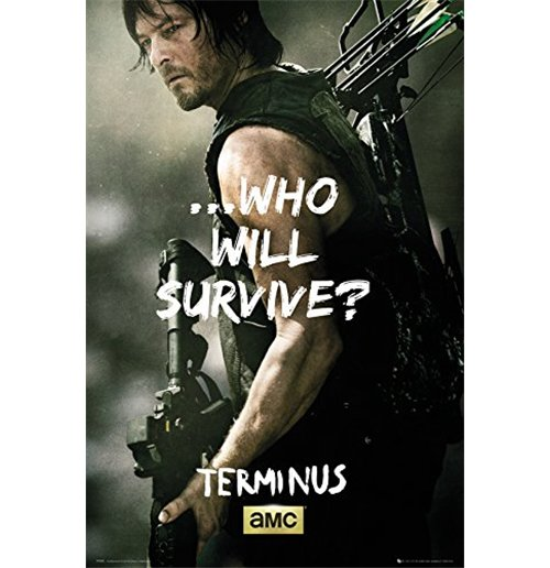Walking Dead (The) - Daryl Survive (Poster Maxi 61x91,5 Cm)