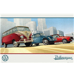 Vw Camper - Illustration (Poster Maxi 61x91,5 Cm)