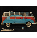 Vw Camper - Paint Advert (Poster Giant 100x140 Cm)