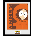 South Park - Kenny (Stampa In Cornice 30x40 Cm)