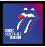 Rolling Stones (The - Blue And Lonesome (Stampa In Cornice 30x30 Cm)