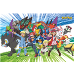 Pokemon - Traveling Party (Poster Maxi 61x91,5 Cm)
