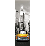 New York - Taxi No 1 (Poster Da Porta 53x158 Cm)