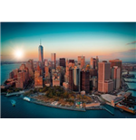 Poster Grande New York - Freedom Tower Manhattan - 100x140 Cm