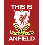 Poster Liverpool - This Is Anfield - 40x50 Cm