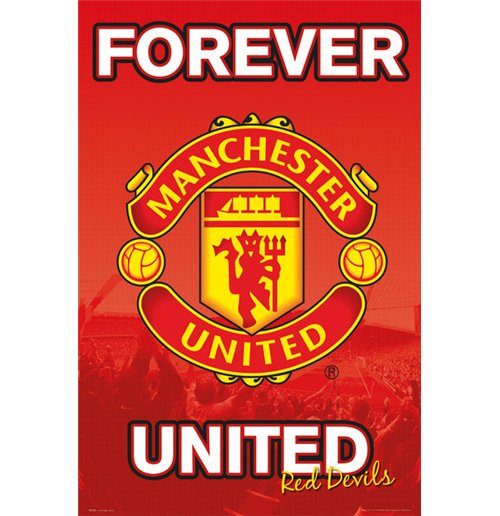 Manchester United - Forever 15/16 (Poster Maxi 61x91,5 Cm)