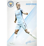 Manchester City - Sterling 16/17 (Poster Maxi 61x91,5 Cm)