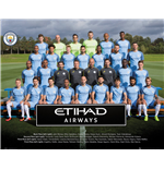 Manchester City - Team Photo 16/17 (Poster Mini 40x50 Cm)