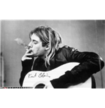 Kurt Cobain Smoking (Poster)