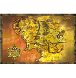 Lord Of The Rings - Classic Map (Poster Maxi 61x91,5 Cm)