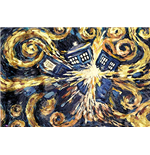 Doctor Who - Exploding Tardis (Poster Maxi 61x91,5 Cm)