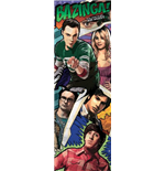 Poster Da Porta Big Bang Theory - Comic - 53x158 Cm