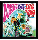 Who (The) - Magic Bus (Stampa In Cornice 30x30 Cm)