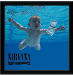Nirvana - Nevermind (Stampa In Cornice 30x30 Cm)