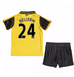 Mini Kit Arsenal 2016/17 Away da bambino (Bellerin 24)