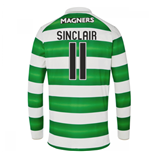 Maglia Manica Lunga Celtic Football Club 2016-2017 Home (Sinclair 11)