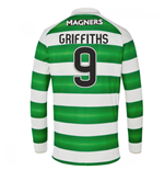 Maglia Manica Lunga Celtic Football Club 2016-2017 Home (Griffiths 9)