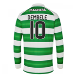 Maglia Manica Lunga Celtic Football Club 2016-2017 Home (Dembele 10)