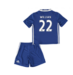 Mini Kit Chelsea 2016-2017 Home (Willian 22)