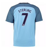 Maglia Manchester City 2016-2017 Home (Sterling 7)