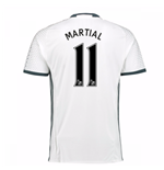 Maglia Manchester United 2016-2017 Third (Martial 11)