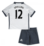 Mini kit Manchester United 2016-2017 Third (Smalling 12)