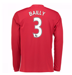 Maglia Manica Lunga Manchester United 2016-2017 Home (Bailly 3)