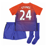 Mini Kit Manchester City 2016-2017 Third (Stones 24)