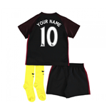 Mini Kit Manchester City 2016-2017 Away Personalizzabile