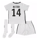 Mini Kit Paris Saint-Germain 2016-2017 Third (Matuidi 14)