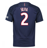 Maglia Paris Saint-Germain 2016-2017 Home (Silva 2)